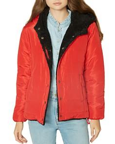 Sanctuary - Reversible Faux-Fur & Quilted Jacket