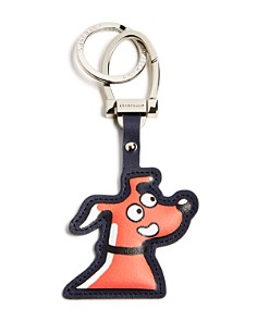 Longchamp - Limited Edition Leather Key Fob