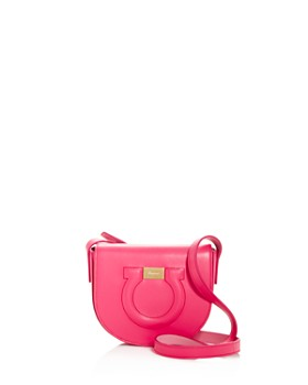 2e0a9bcf3b42 Salvatore Ferragamo - Gancio City Leather Crossbody Bag ...
