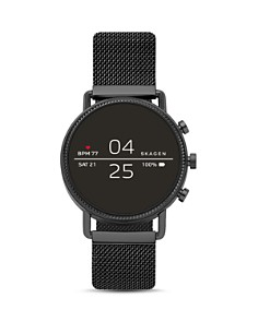 Skagen - Falster 2 Black Mesh Strap Smartwatch, 40mm