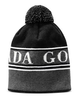 2f5335dc5b1 Canada Goose - Pom-Pom Logo Toque Hat