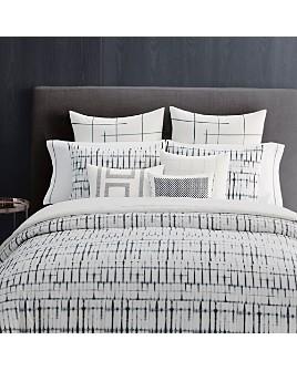 Vera Wang - Shibori Grid Bedding Collection