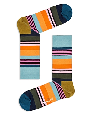 Happy Socks Multi-Color Striped Socks