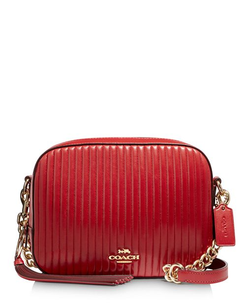 Coach Small Quilted Leather Camera Bag