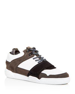 CREATIVE RECREATION Men'S Indio Low-Top Sneakers in White/Gray