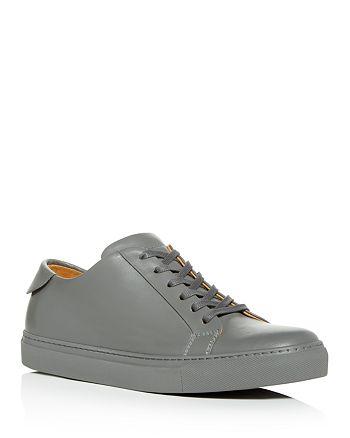 Collegium - Men's Classic Pillar Leather Low-Top Sneakers - 100% Exclusive