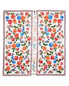 Echo - Floral Print Long Ruana