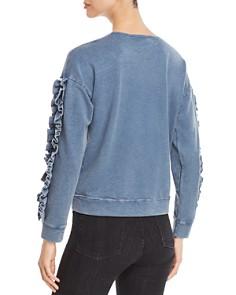 Design History - Ruffle-Sleeve Sweatshirt