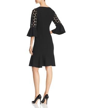 Elie Tahari - Bri Crochet Sleeve Dress