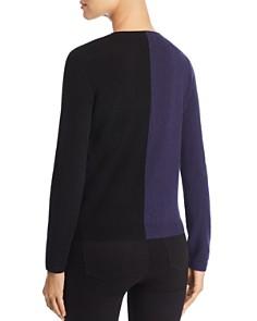 Majestic Filatures - Cashmere Color Block Sweater