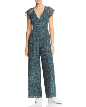 SAGE THE LABEL Sage The Label Layla Wide-Leg Jumpsuit in Teal