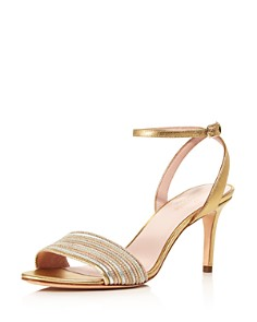 kate spade new york - Women's Jasmyne Metallic Leather High-Heel Sandals
