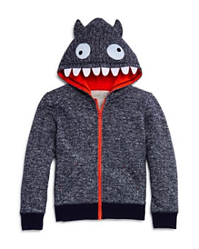 Mini Series - Boys' Terry Monster Zip Hoodie, Little Kid - 100% Exclusive
