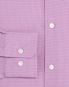 BOSS - Marley Micro-Dobby Dotted Regular Fit Dress Shirt