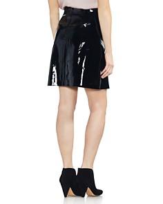 VINCE CAMUTO - High-Waist Patent Skirt