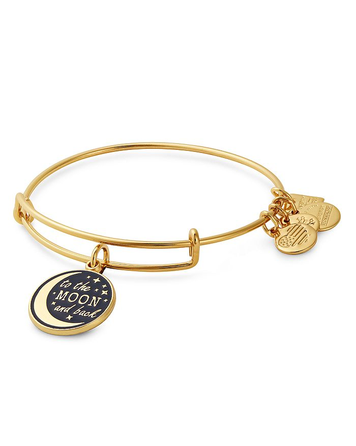 Alex And Ani ALEX AND ANI STELLAR LOVE EXPANDABLE CHARM BRACELET, CHARITY BY DESIGN COLLECTION