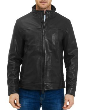 Robert Graham Napoleon 2 Leather Jacket