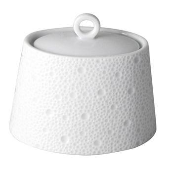Bernardaud - Ecume White Sugar Bowl