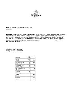 Godiva® - Pumpkin Spice Truffles