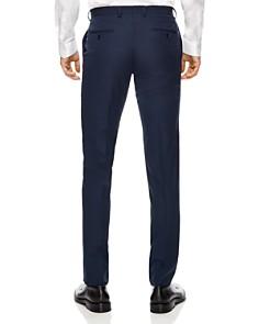 Sandro - Blue Virgin Wool Slim Fit Pants