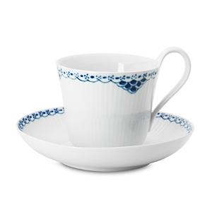 Royal Copenhagen Princess High Handle Cup & Saucer