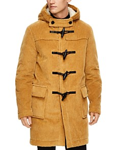 Sandro - University Hooded Toggle Coat