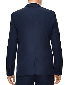 Sandro - Blue Virgin Wool Slim Fit Sport Coat