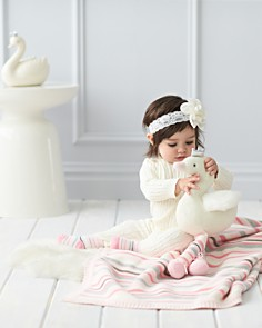 Elegant Baby - Unisex Cable-Knit Romper - Baby