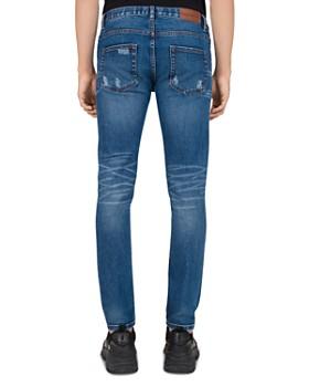 The Kooples - Japanese Denim Skinny Jeans in Blue Denim