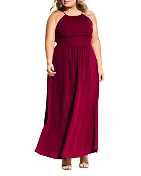 City Chic Plus - Devotion Sleeveless Maxi Dress