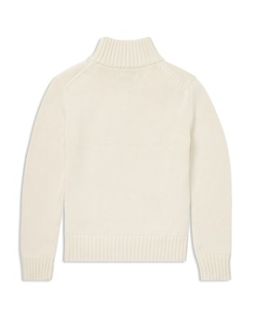 Ralph Lauren - Boys' Cotton Quarter-Zip Sweater - Little Kid
