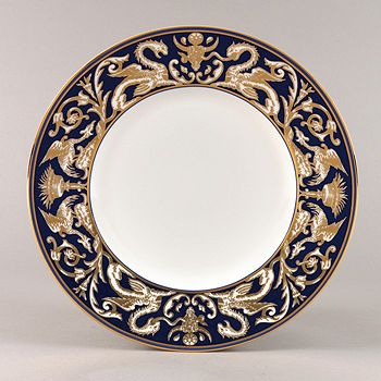 "Wedgwood - ""Renaissance Gold"" Accent Salad Plate"