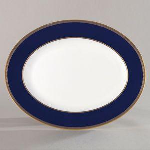 Wedgwood Renaissance Gold Oval Platter, 13