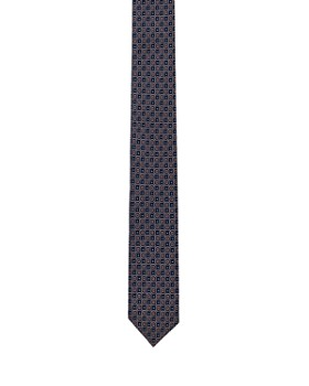 The Kooples - Octagon & Dot Silk Skinny Tie