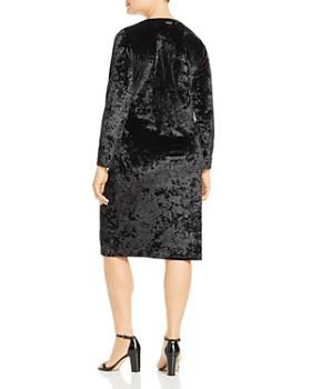MICHAEL Michael Kors Plus - Crushed Velvet Dress