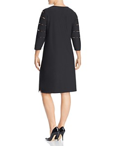 Love Scarlett Plus - Peekaboo Cutout Shift Dress
