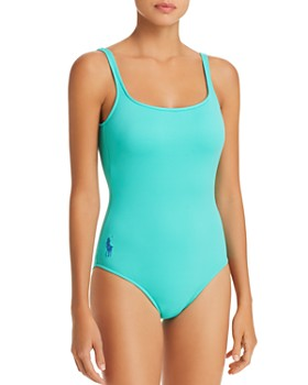 bf8e338dcae12 Ralph Lauren - Solid Martinique One Piece Swimsuit ...