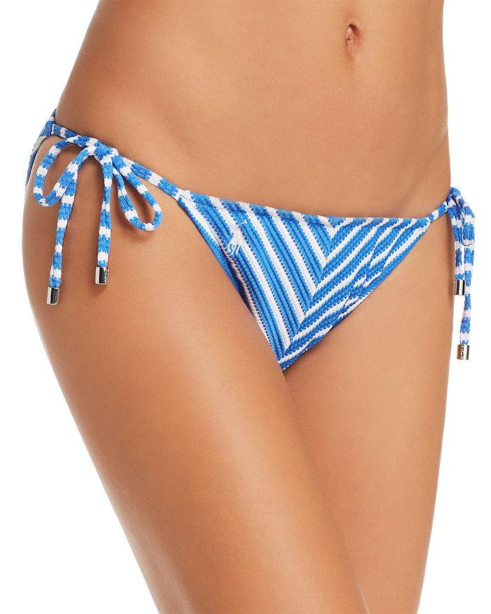 Ralph Lauren - Piqué Stripe Ricky Hipster Bikini Bottom