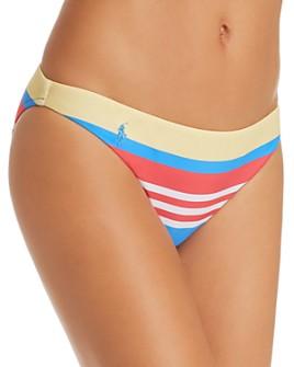 Ralph Lauren - Engineered Stripe Retro Bikini Bottom