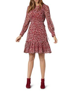 L.k. Bennett Damiell Animal-Print Dress