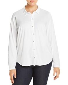 Eileen Fisher Plus - Classic Collar Shirt