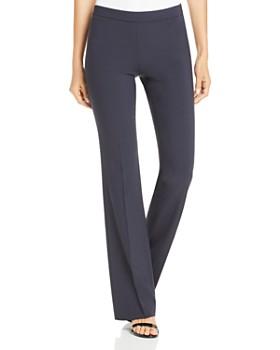 BOSS - Tulea Fundamental Side-Zip Bootcut Pants