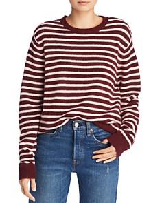 John and Jenn - Sonia Striped Crewneck Sweater