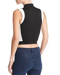 Kendall + Kylie - Sleeveless Cropped Top