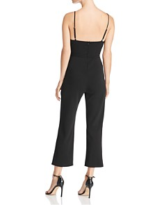 Sunset & Spring - Crossover Cutout Jumpsuit - 100% Exclusive