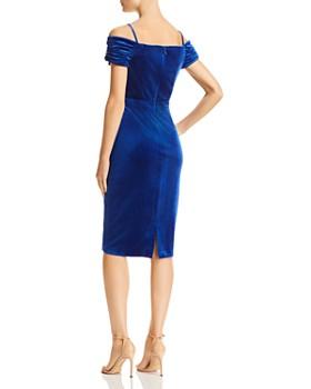 Laundry by Shelli Segal - Cold-Shoulder Velvet Dress - 100% Exclusive