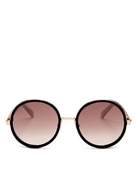 d3f3e7321bc Jimmy Choo - Women s Andie Mirrored Round Sunglasses