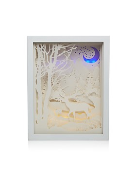 Gerson Company - Deer In Woods Shadow Lightbox