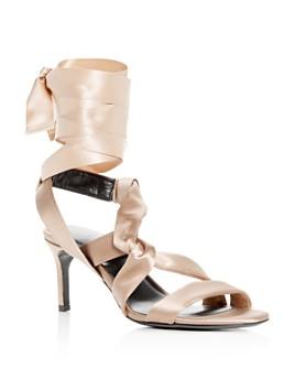 Via Spiga - Women's Jett Ankle Tie High-Heel Sandals