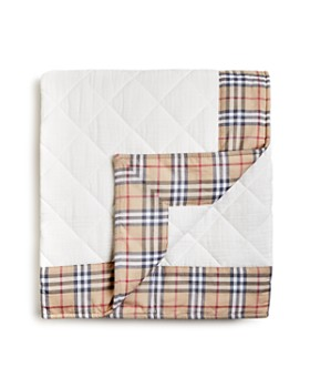 Burberry - Diamond-Quilted Blanket - Baby